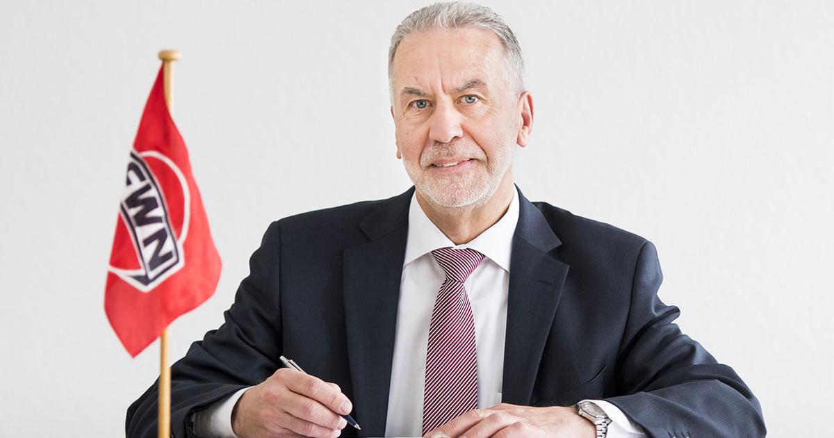 Geschäftsführer Bruno Kruth