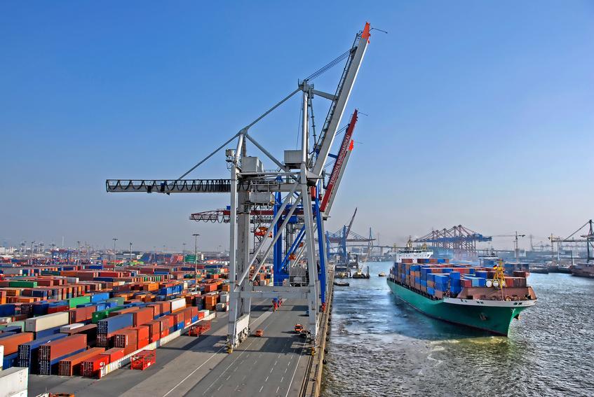 Container Terminal - Hamburg