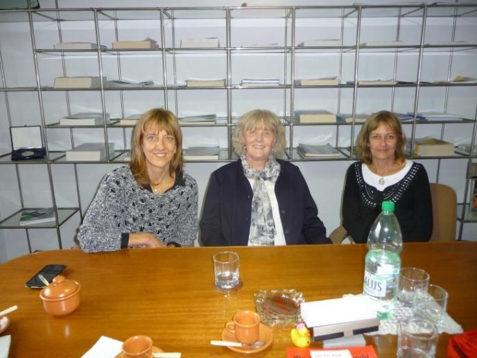 Frauenpower (Marein Pache in der Mitte)