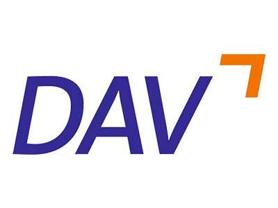 Deutsche Außenhandels- und Verkehrs-Akademie (DAV) Logo