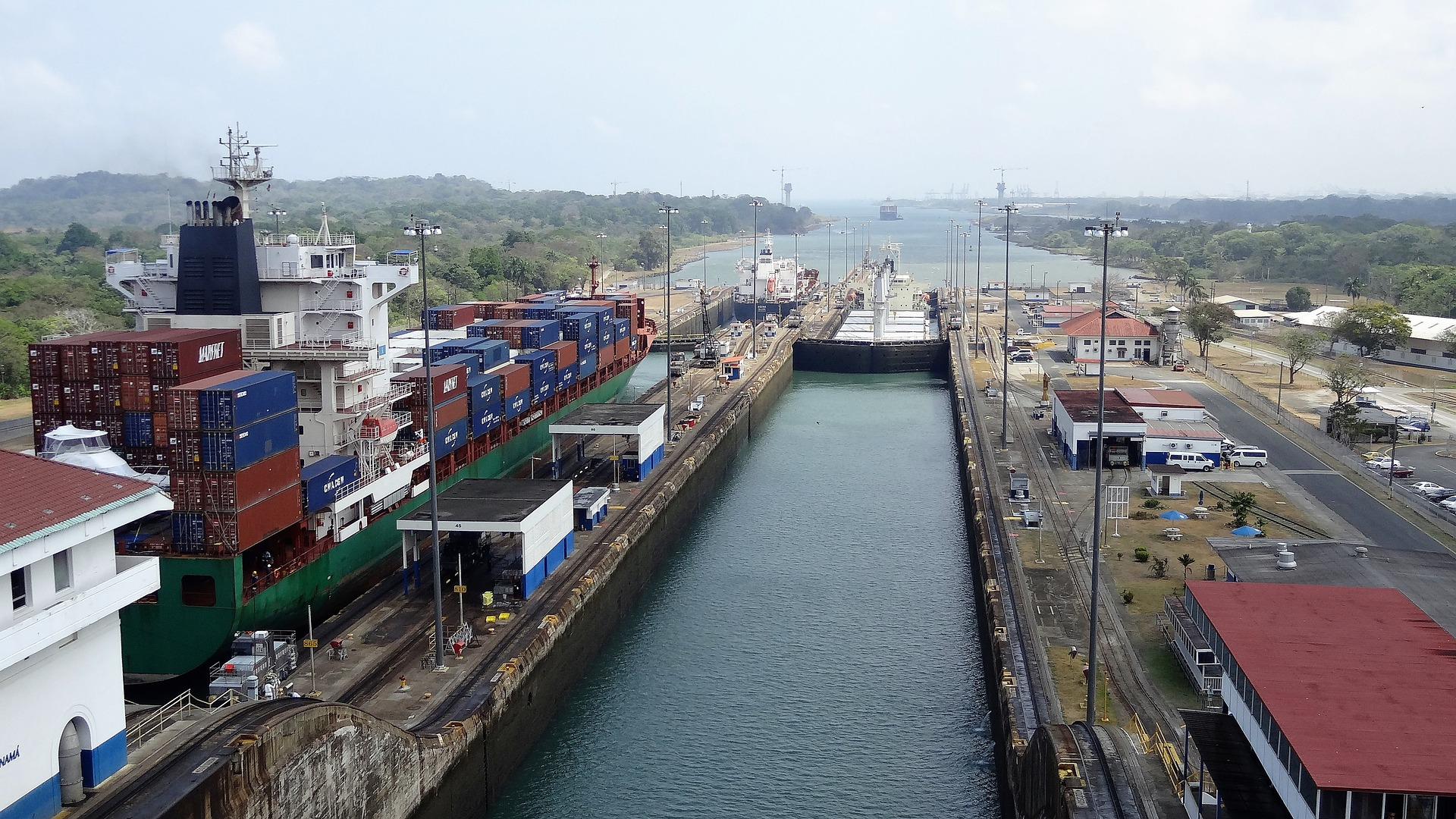 Fahrtgebiet Panama - F.W. Neukirch